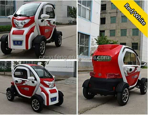 YuFeng New 4 wheels family use car for adults