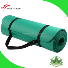 Pisces high density extra thick nbr exercise yoga mat 15mm