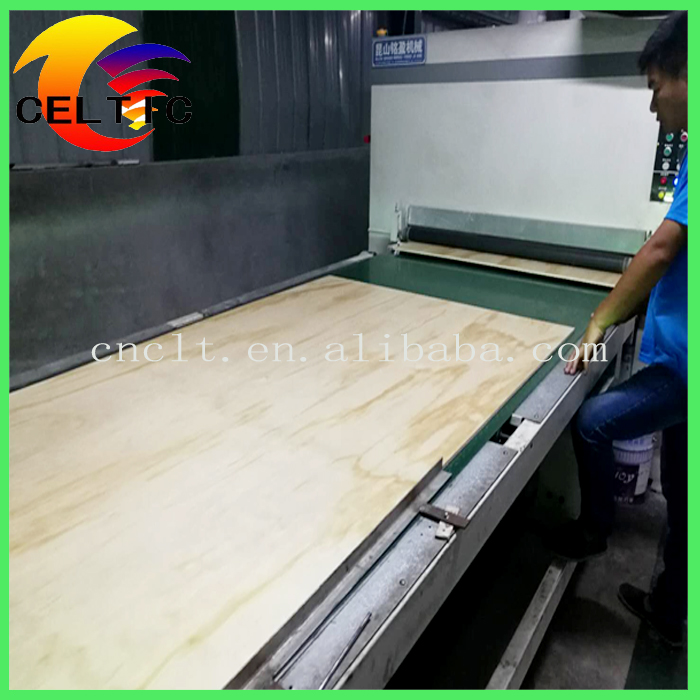 Furniture Grade Top Quaity Pine UV Plywood for Cabinets Poplar Core Veneer Sheet for USA Market