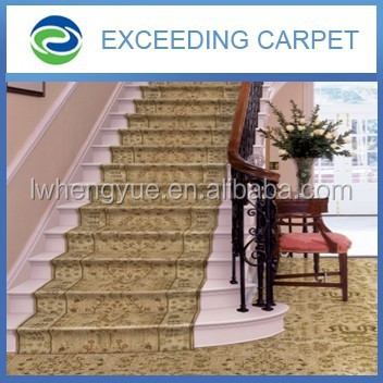 Manufacturer Super soft carpet stair treads