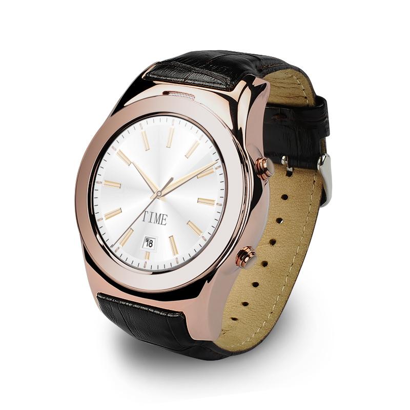 22b0a177d Best Smart Watches GW01 BT4.0 Waterproof Smartwatch Leather Pedometer  Calendar Smart Watch For iOS Android