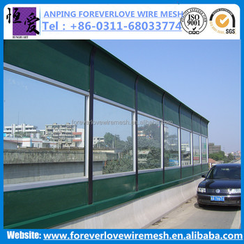 Anping High quality construction noise barrier /sound proof wall