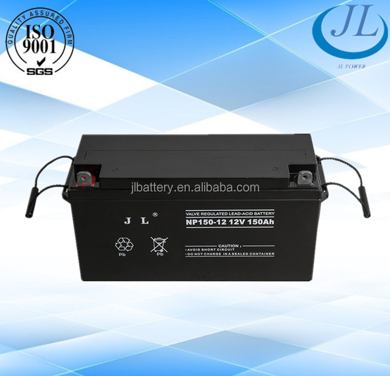 CE Solar energy store 12v 150ah deep cycle lead acid battery