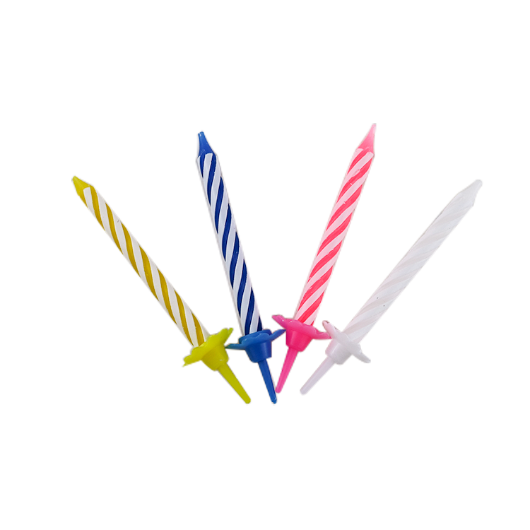 wholesale high quality magical colored factorymaking spiral firework birthday candle