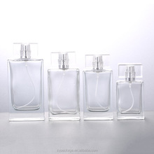 Custom made kare 30 ml 50 ml sprey cap ile 100 ml <span class=keywords><strong>cam</strong></span> <span class=keywords><strong>parfüm</strong></span> <span class=keywords><strong>şişesi</strong></span>