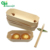 Factory price round wood poplar cheese cake box