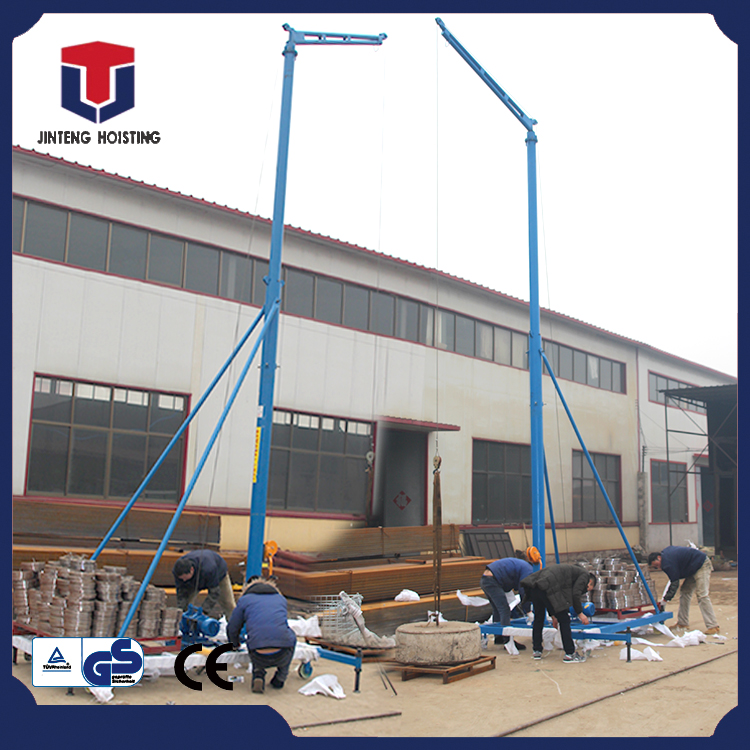 Hot sale experienced mini mobile pickup deck crane with CE certificate