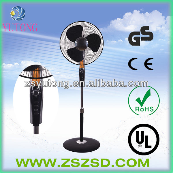 2014 new model stand fan with LED light
