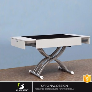 Lift Top Height Adjustable Coffee Table Modern