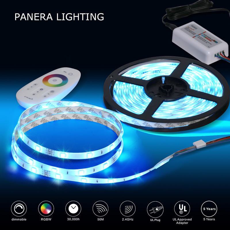 Promotion 180leds 6m 24v waterproof rgb 5050 flexible led  light strip kit with power supply for cabinet decoration
