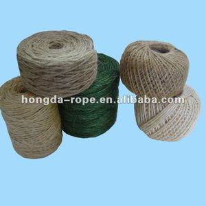biodegradable sisal rope/twine braided
