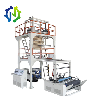 Top high speed SL-65-1000 single layer space saving HDPE/LDPE/LLDPE film blowing machine