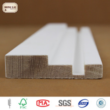 Custom Waterproof Primer Pine Edge Glued white gesso primed finger Jointed Joint Moulding Laminated Board