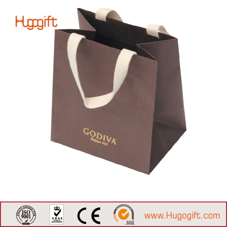Best Quality New Arrival Pink Xiamen Cardboard Gift Bag