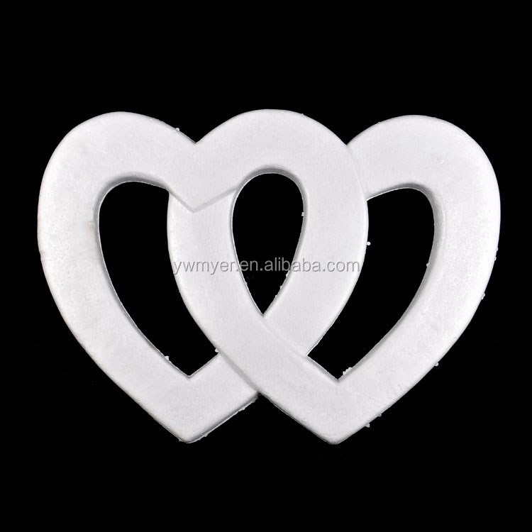 600mm decorative artificial styrofoam hearts