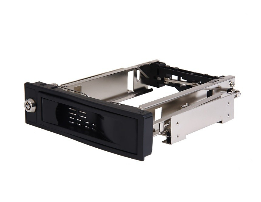 "3.5"" HDD mobile rack/hard drive Mobile Rack for 5.25'' drive bay"