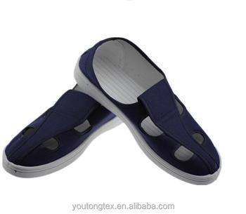 regarder e6171 8f3b5 Esd Toile Antistatique Chaussures/salle Blanche Chaussures/chaussures De  Travail Pour La Sécurité - Buy Esd Toile Antistatique ...