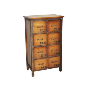 antique seed storage curio telephone cabinets with eight drawers
