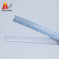 Flat ribbon cable UL2468 PVC insulation wire
