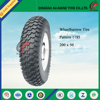 Pattern 1185 wholesale solid wheelbarrow tires wheel barrow tire replacement 200*50