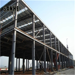 Structure steel fabrication supply two story prefabricated steel structure warehouse