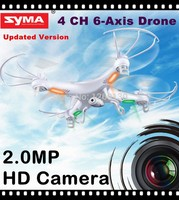 New 2015 100% Original Best Price Syma X5c 2.4G 4CH 6 Axis Rc Plane With HD Camera By Salange