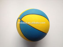 Hot selling EN71 Pu foam children basketball China Factory pu stress ball with elastic string