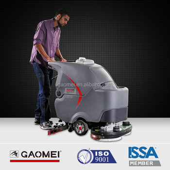 Self Propelled Washing Machine Floor Scrubber For Concrete Floor