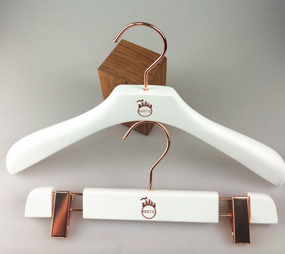 White Wooden Hanger Children Clothes Hanger For Kids Buy