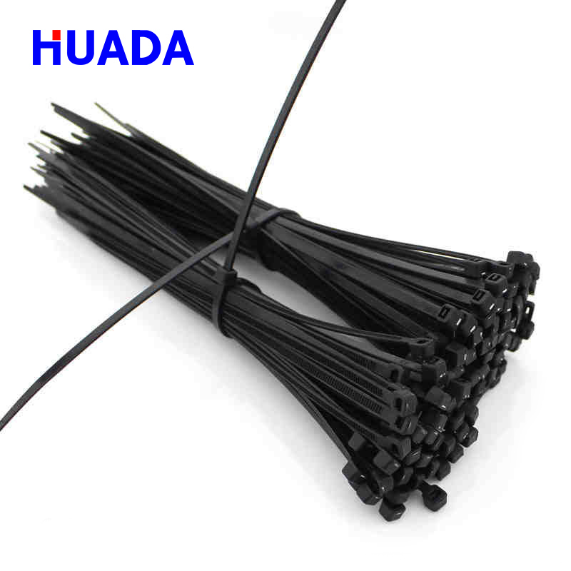 Huada high quality self-locking nylon cable <strong>tie</strong>