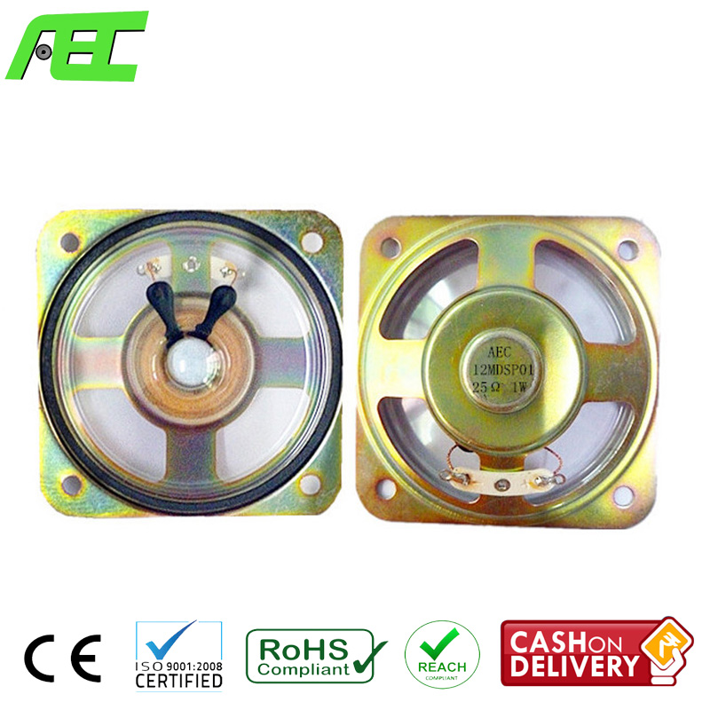 High Quality 3 inch Waterproof Speaker Driver 1 w 25 ohm Speaker