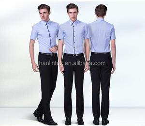 factory price polyester cotton fabric/school uniform patterns