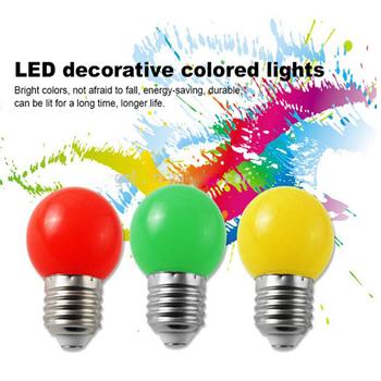 2016 hot sales wit pc cover led kleur lamp led kleurrijke bollen 1 w g45 led