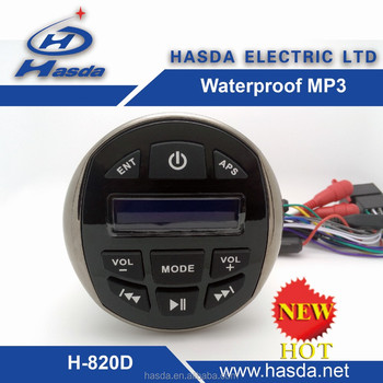 DAB+FM+USB+AUX+BT+MAX POWER+UV STABLE +MANUFACTURER MARINE STEREO USED IN MARINE /UTV/ATV/RV/MOTOCYCLE