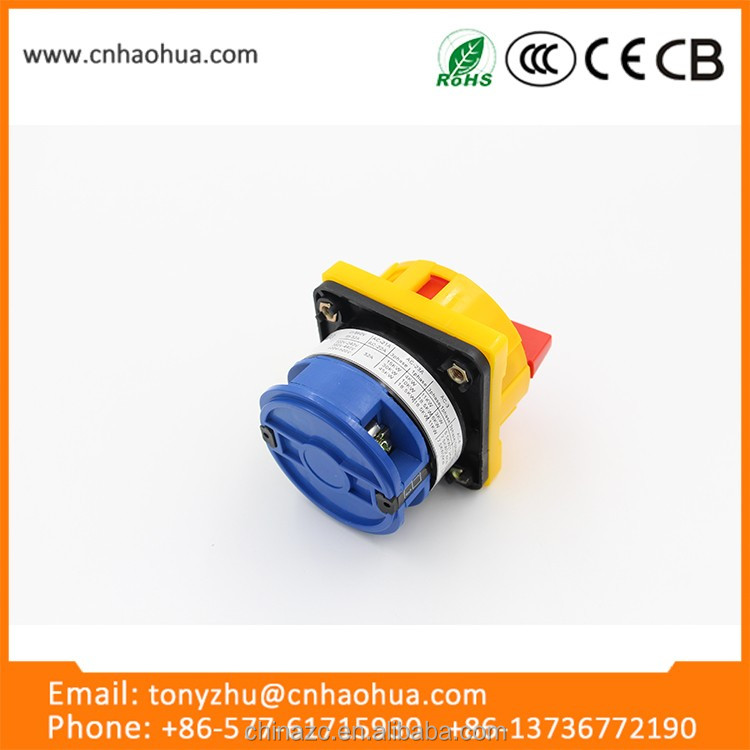 Lw26gs Series 32a China Wholesale Websites Waterproof Rotary Power ...