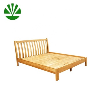 Traditional High Foot End Natural Pine Wooden Bed Frame Buy Pine