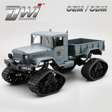 DWI Dowellin 2.4G 4WD Télécommande Rock Crawler <span class=keywords><strong>RC</strong></span> Jouet Militaire Hors Route Voiture Camion