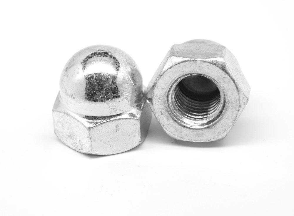 "1/2""-13 Coarse Thread Acorn Nut 1 Piece Stainless Steel 304 Pk 50"