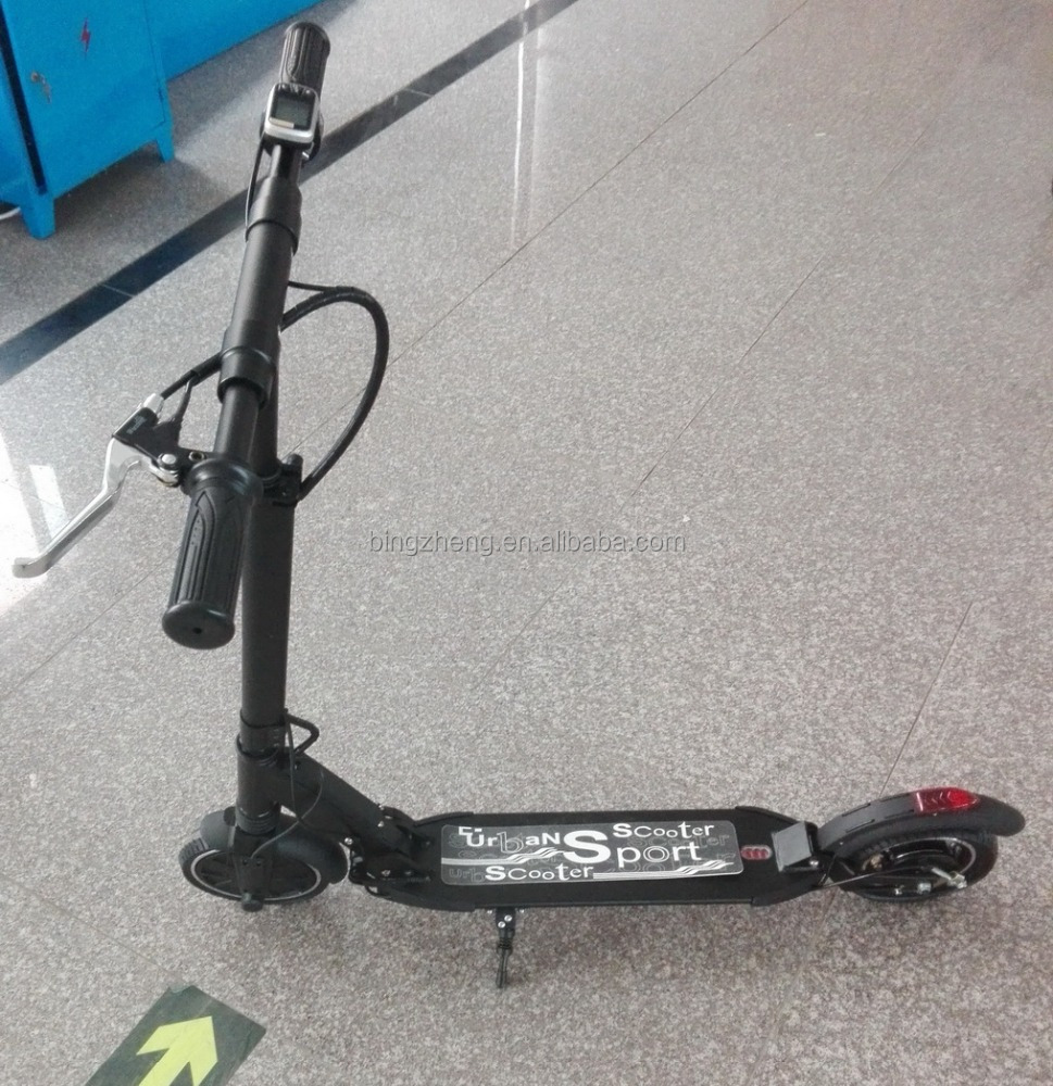 cheap and foldable electric standing scooters for city-commuting and short transportation (CE approved)