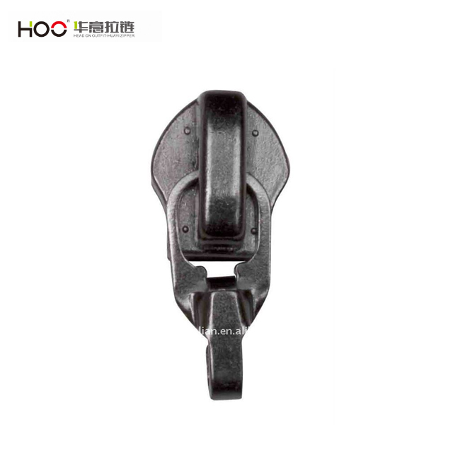 No.5 Auto Lock Nylon Slider with Hook