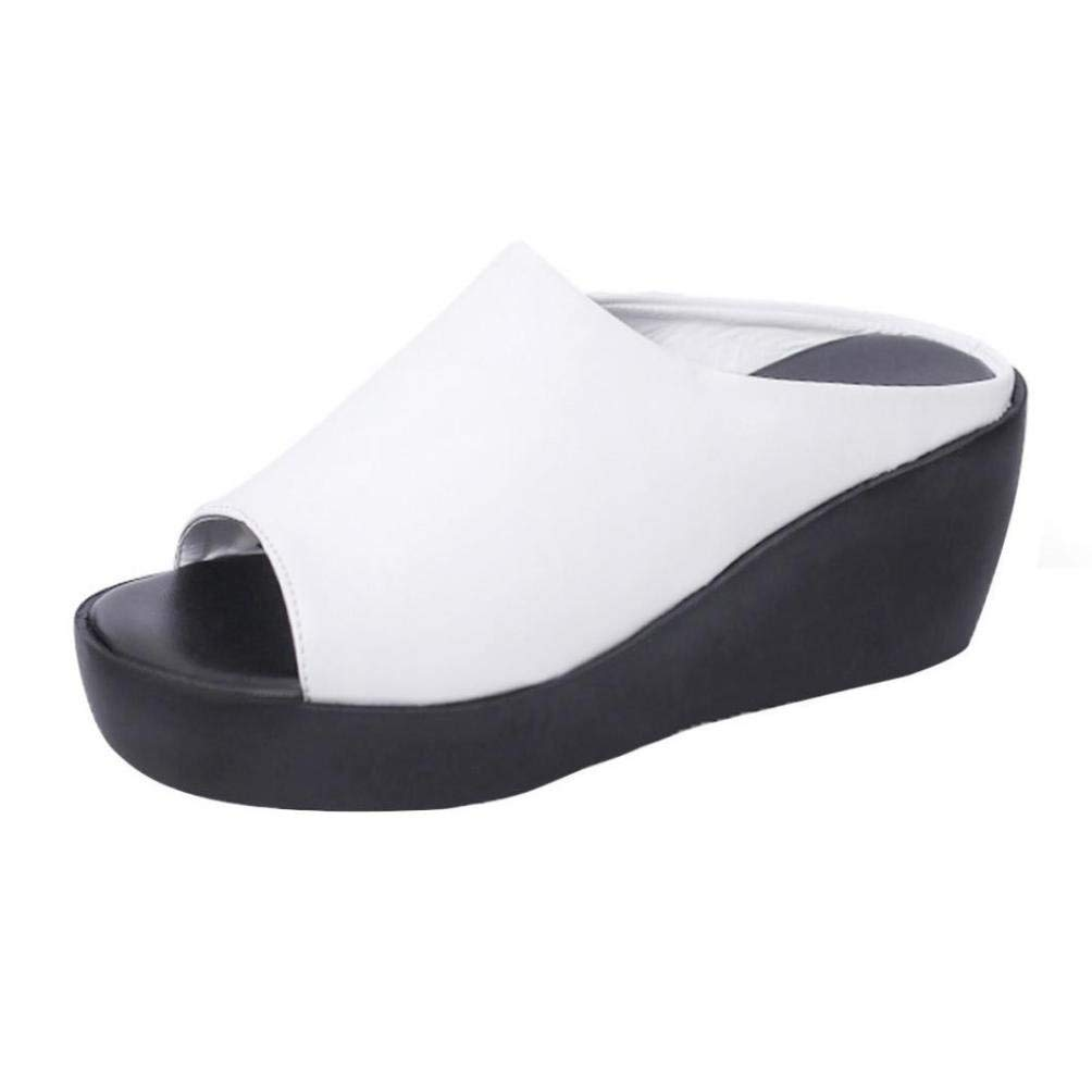 6145bfd63820 Cheap Wedge Slippers For Women