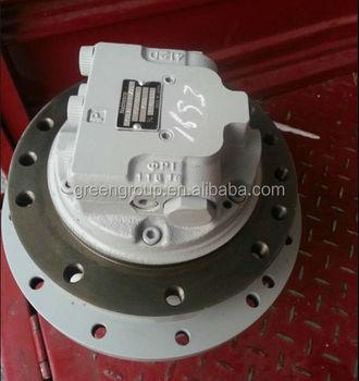 Morooka carrier mst2500 final drive nabtesco gm10va travel for Hydraulic track drive motor
