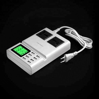 High quality multi port travel charger,mobile phone accessories,8 usb desktop charger