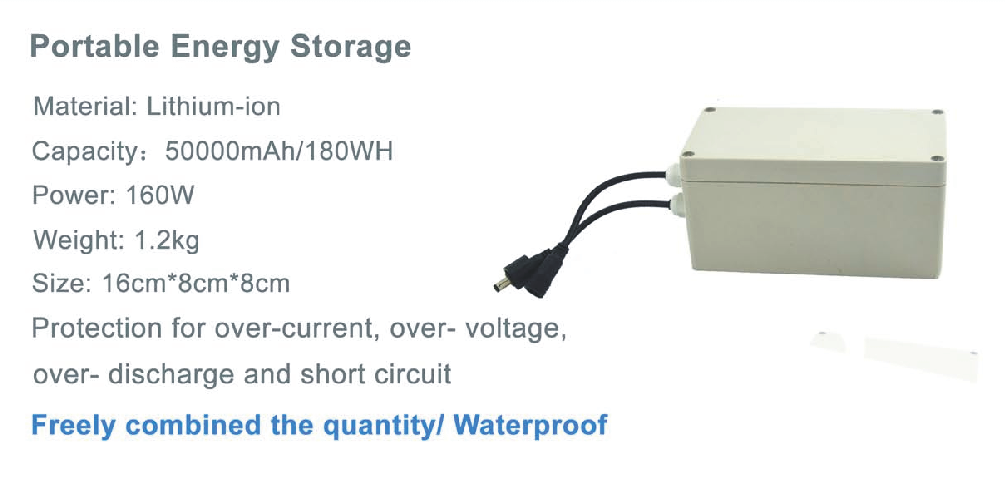 Factory supply outdoor energy storage station  IP67 Waterproof  energy storage system solar energy storage battery
