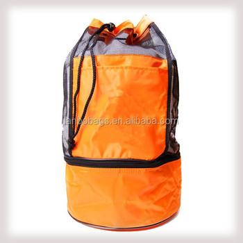 Beach Bag With Big Mesh Cooler Backpack - Buy Cooler Backpack ...