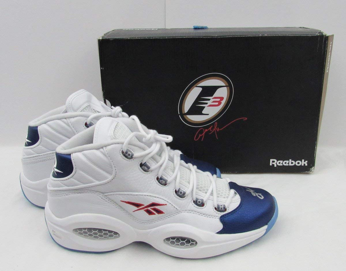 2f5c6dafb530 Get Quotations · Allen Iverson 76ers Signed Reebook Question NEW NWT w Box  Shoes JSA 136216