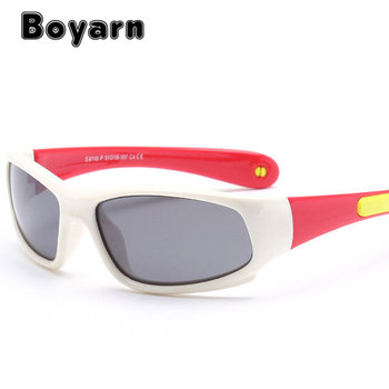 f4db556274 Boyarn Kids Sport Sunglasses Polarized Anti UV Protection Eyewear Child  Polaroid Sun Glasses Girls Boys Goggles