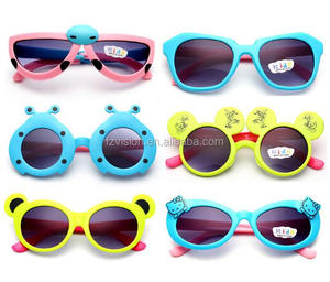 New colorfull PC Promotional cartoon animal kids funny Sunglasses