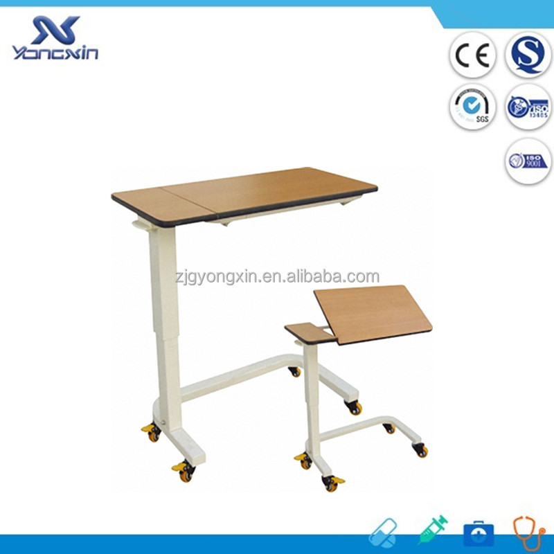 YXZ-021 Easy assembled hospital over bed table