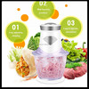 New Design Food chopper, fruit and vegetable chopper, Glass meat chopper with factory price
